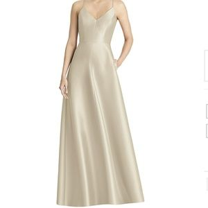 Alfred Sung Dress Style D750 in Palomino